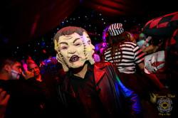 Halloween club room