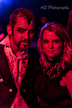 Bewitching halloween night at essence club