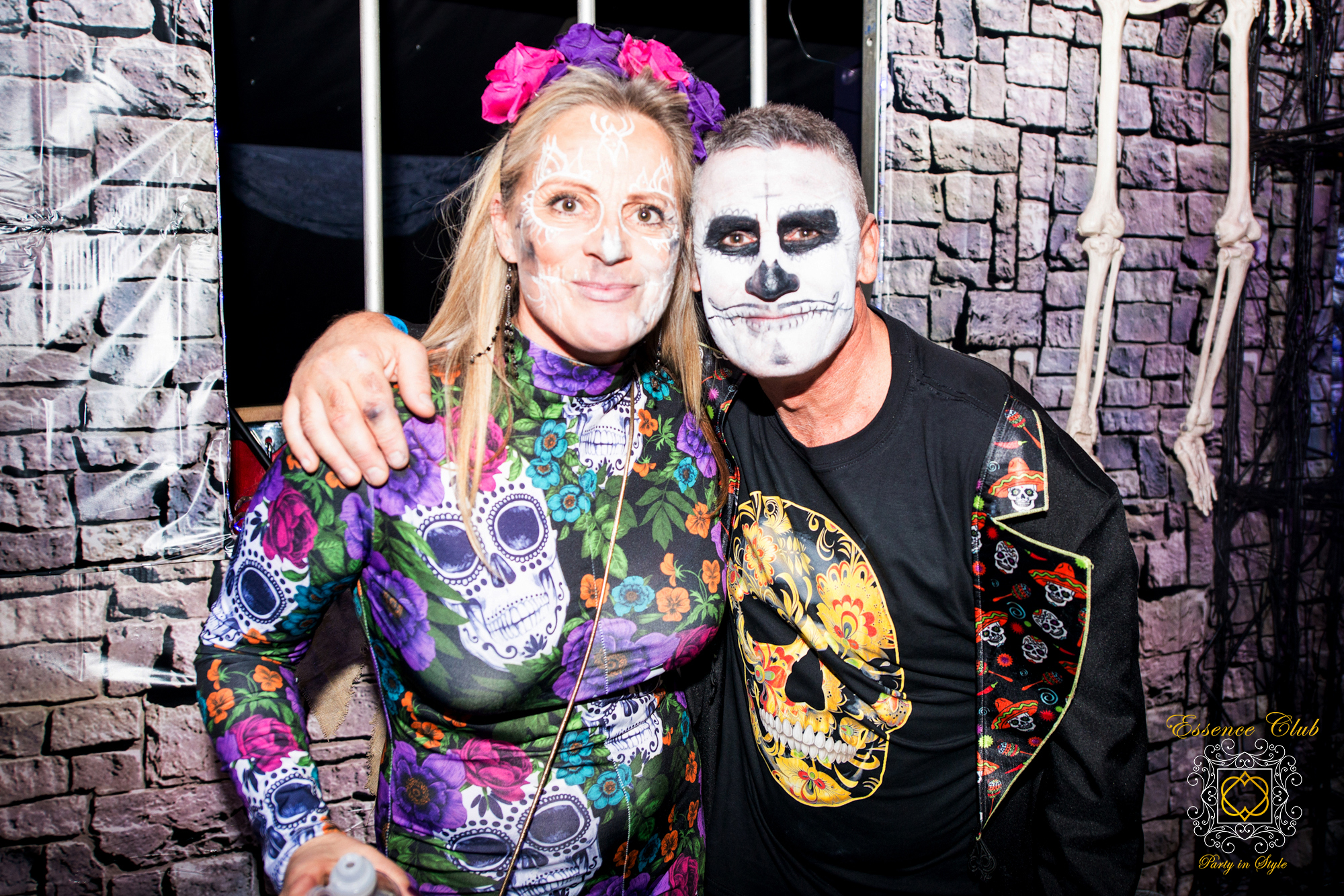 Halloween Skull Castle Party
