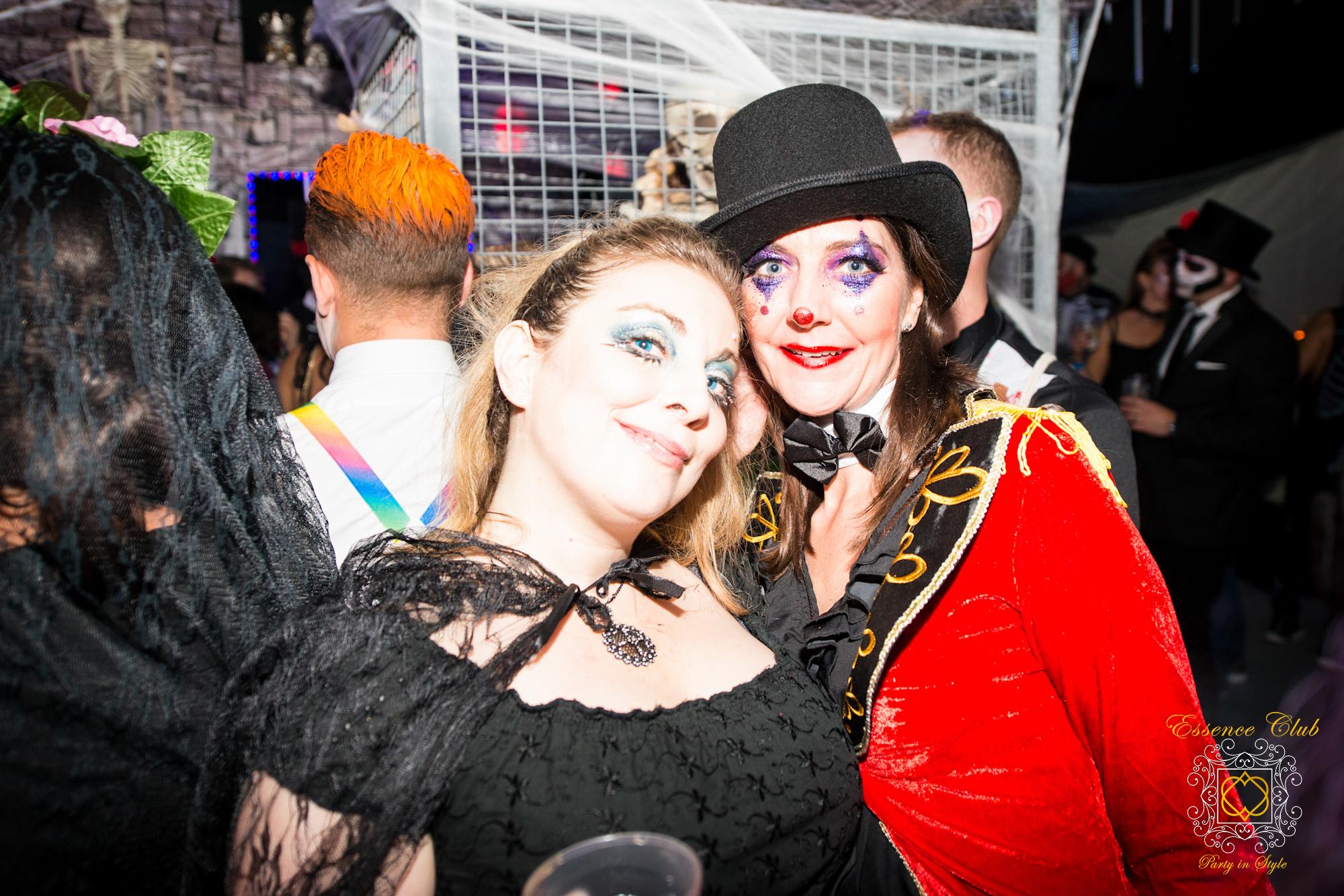 Halloween themed parties