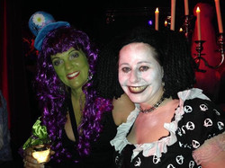 Bewitching halloween party at essence club