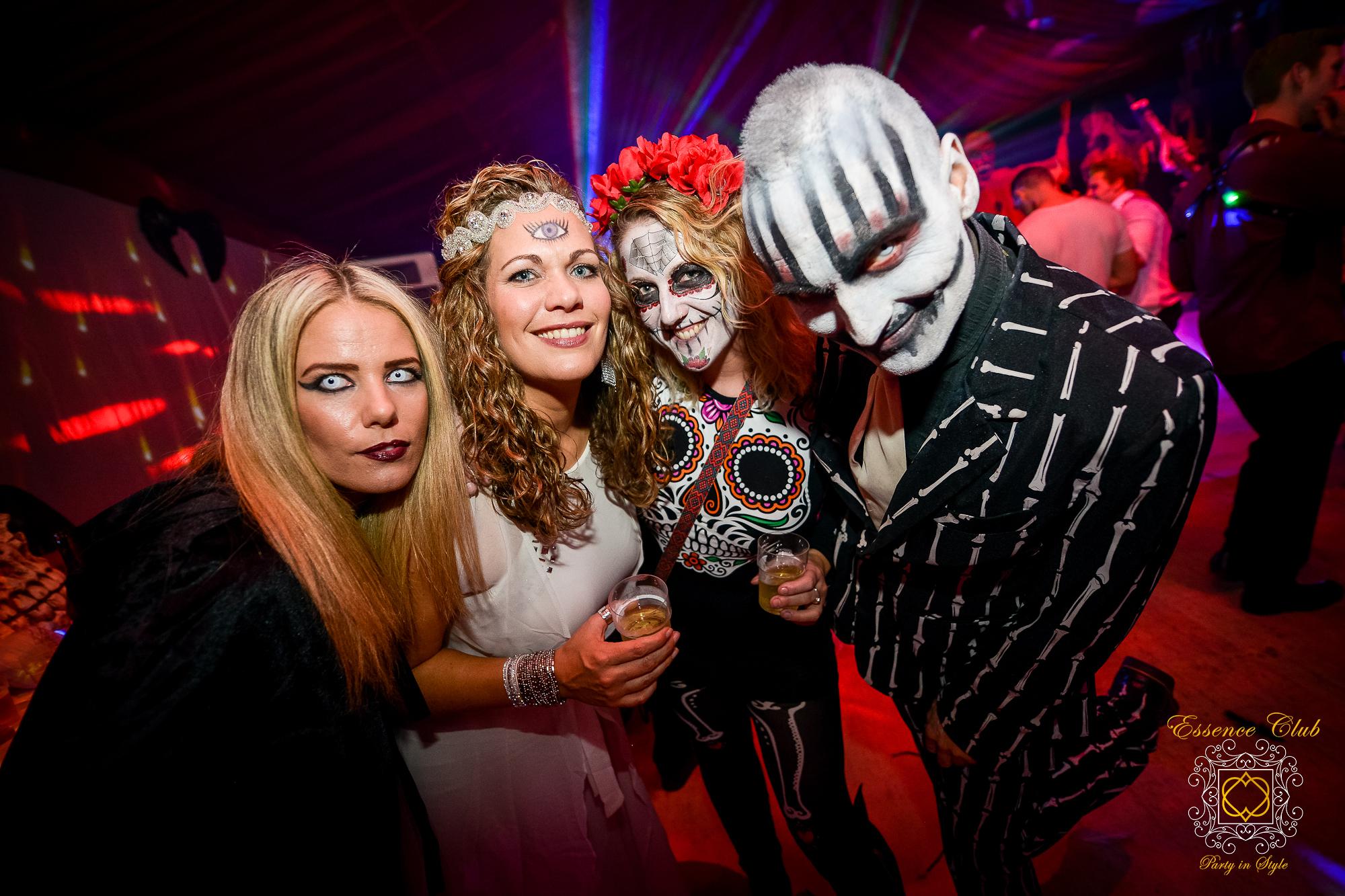 Halloween gathering at essence club 2