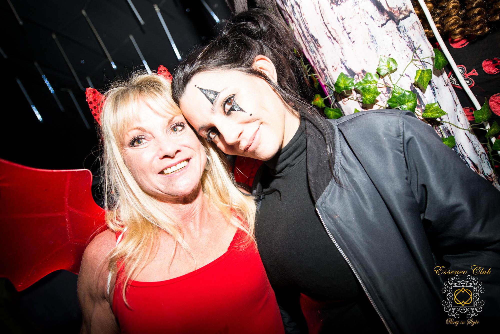 Halloween underworlld party shot