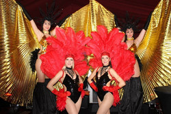 Ultimate party for charity dancers