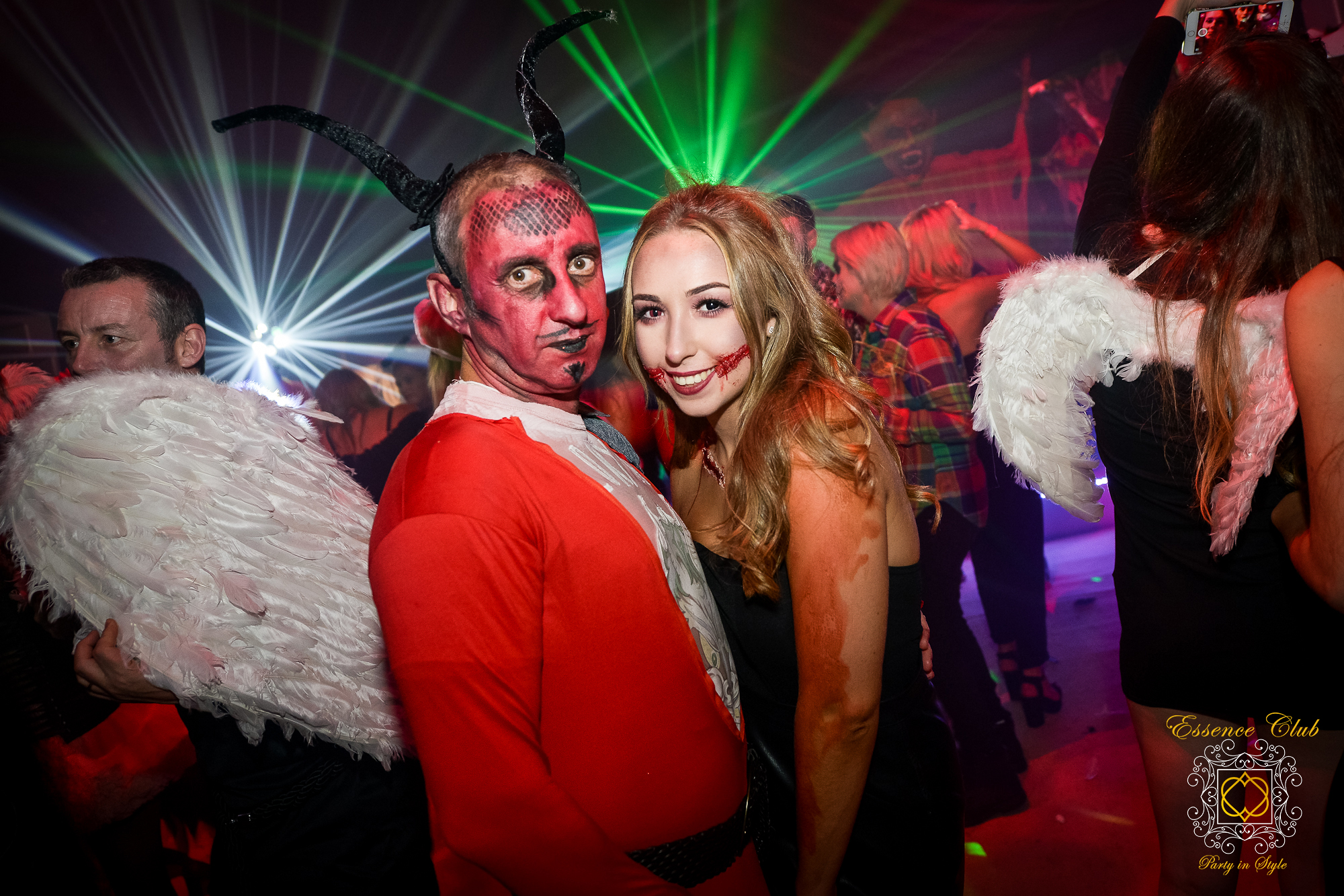 Essence club heaven and hell themed nights