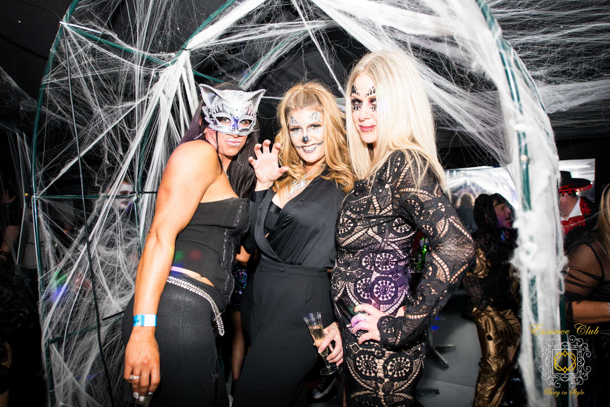 Halloween Web party