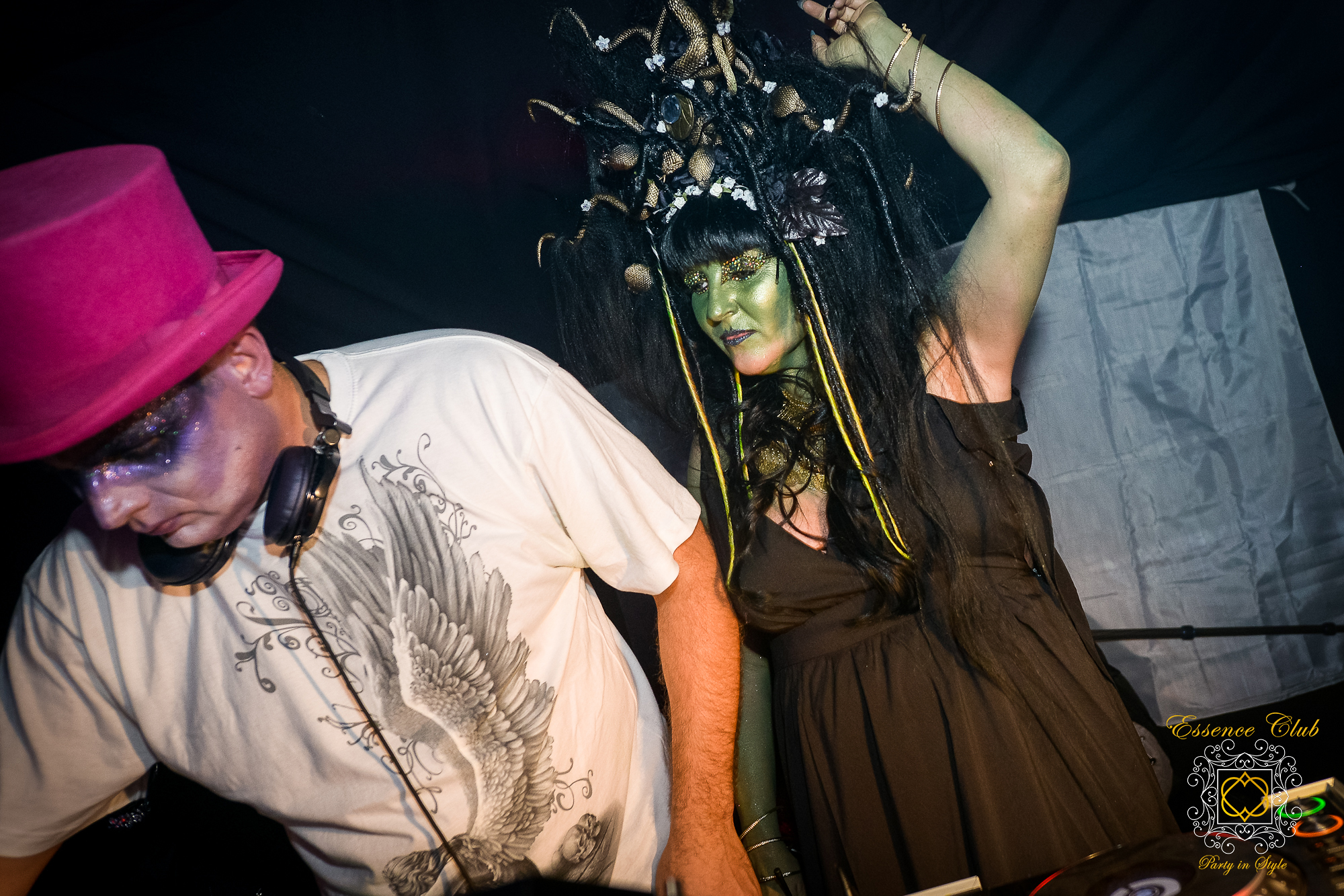 Rebekah Abbi Medusa and Justin Essence