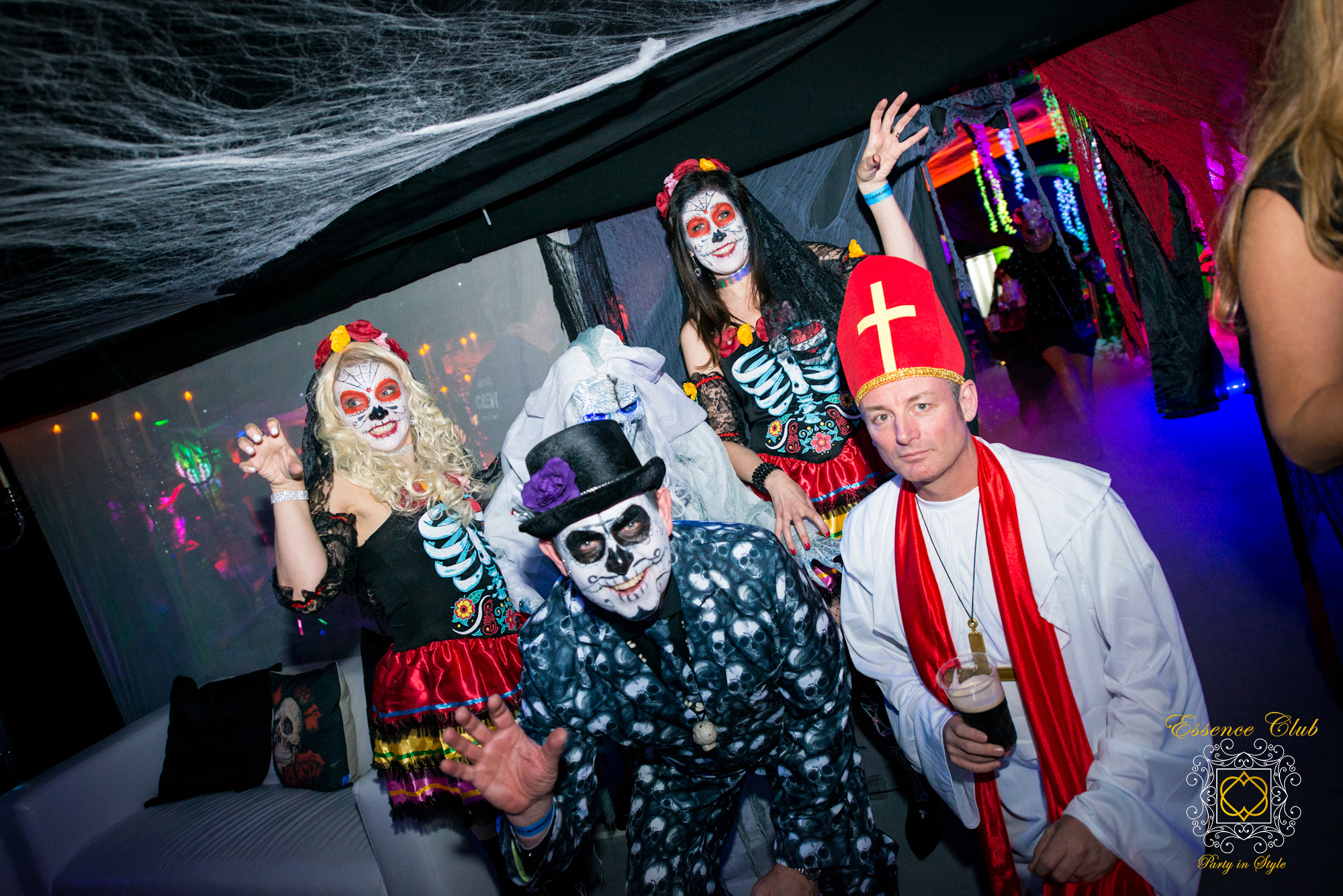 Halloween themed parties from essence club