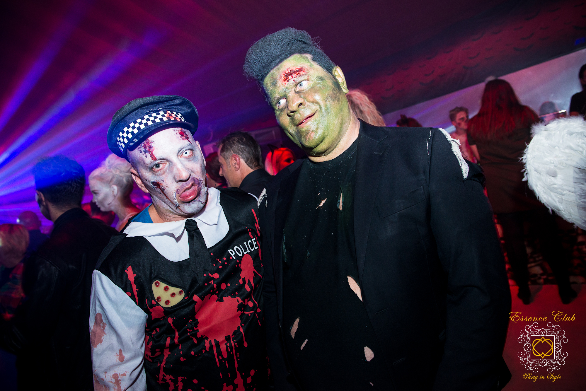 Essence club halloween heaven hell
