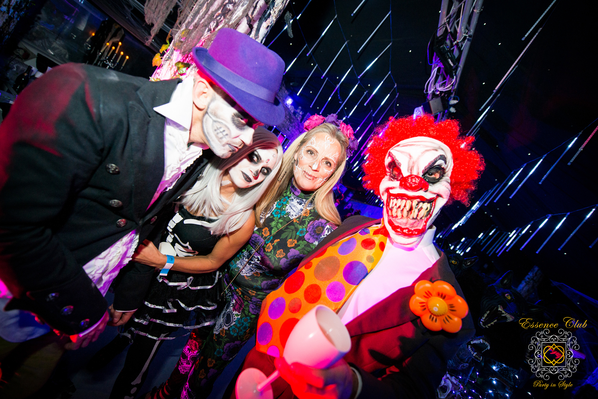 Colourful Halloween party