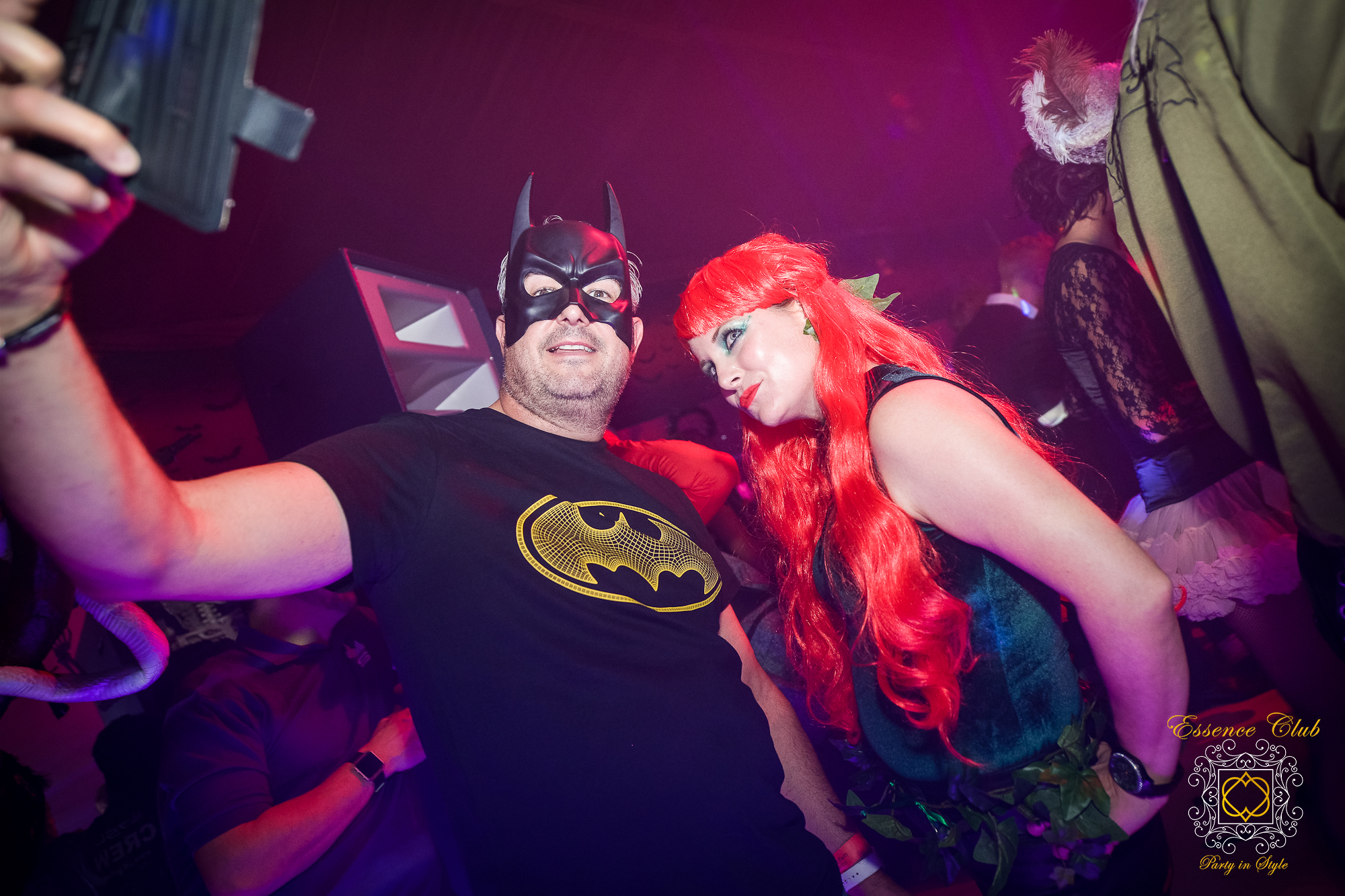 Essence club heaven hell and batman