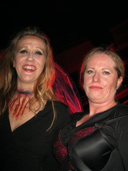 Bewitching halloween party night