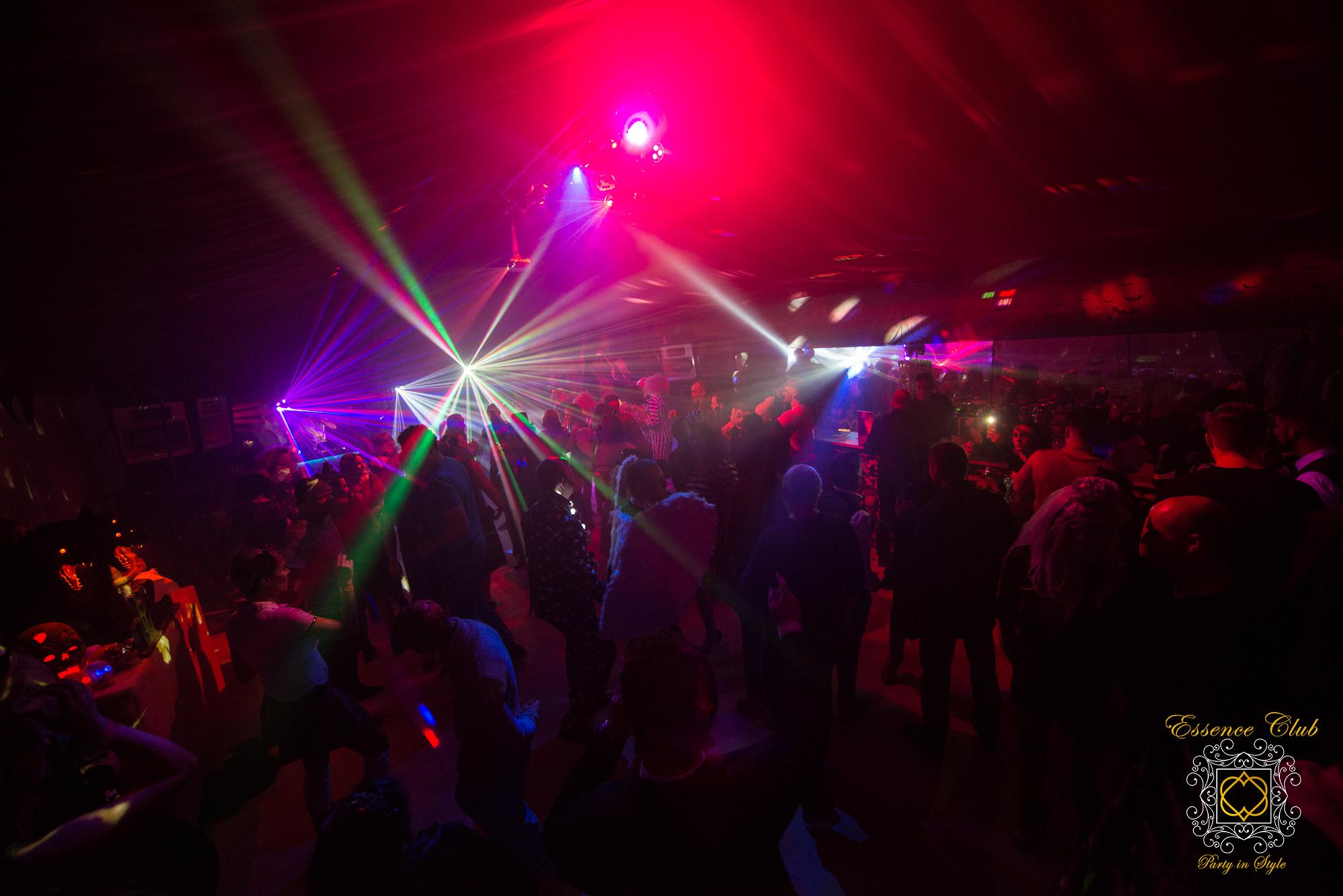 Essence club hell room
