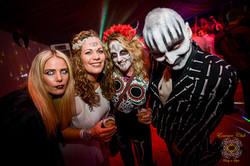 Halloween gathering at essence club