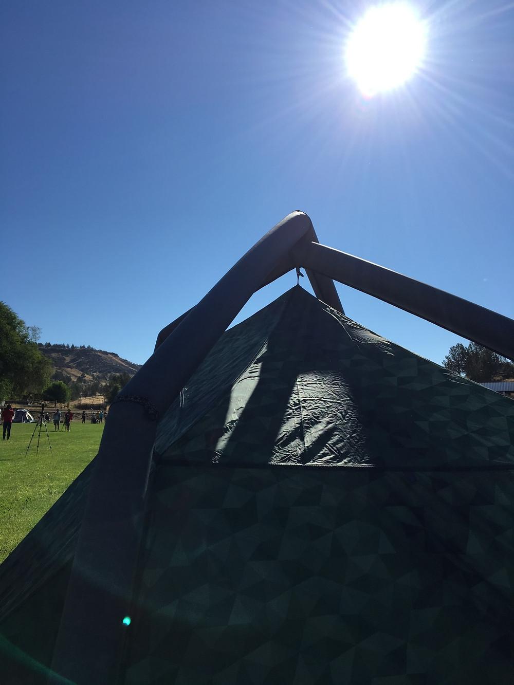 My Heimplanet Tent
