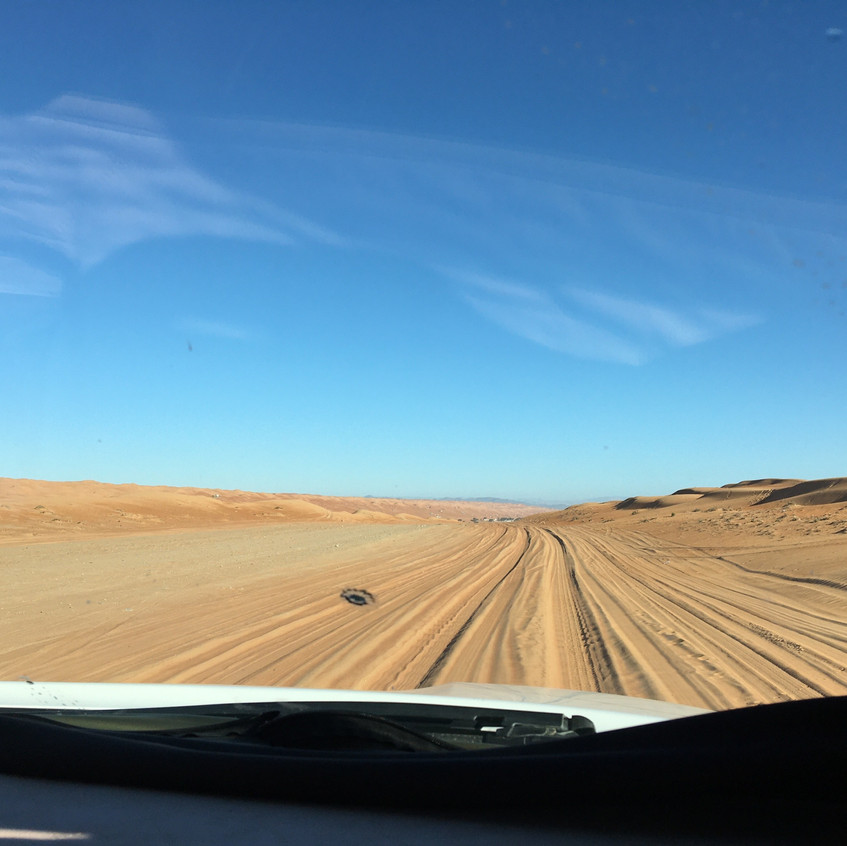 Packed-sand = good road