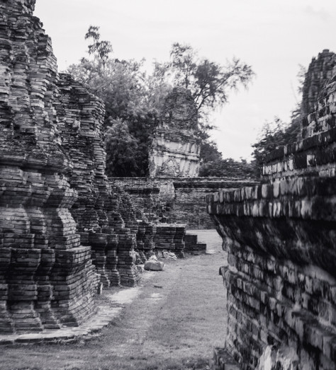 Marla Manes Photography Ayutthaya Ruins in Thailand