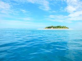 Ocean and Island in Fiji