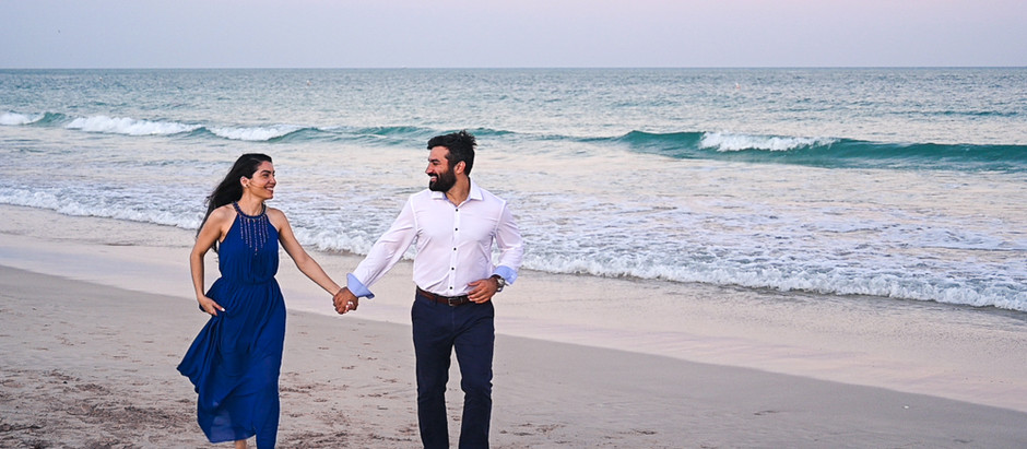 Romantic Engagement Session in Miami's South Pointe Park