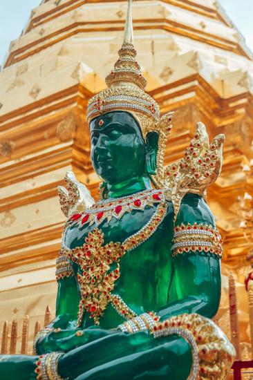 Marla Manes Photography Emerald Buddha in Chiang Mai