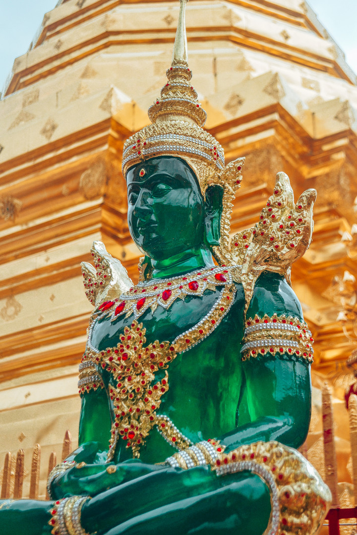 Marla Manes Photography Emerald Buddha in Chiang Mai