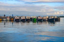 Marla Manes Photography Boats lined up on Nadi, Fiji