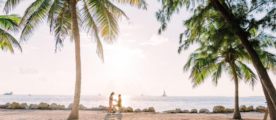 Best Beach Proposal Ever - Surprise Engagement in the Florida Keys