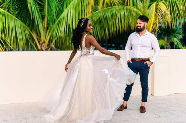 Elope in Miami - Miami Design District Urban Elopement