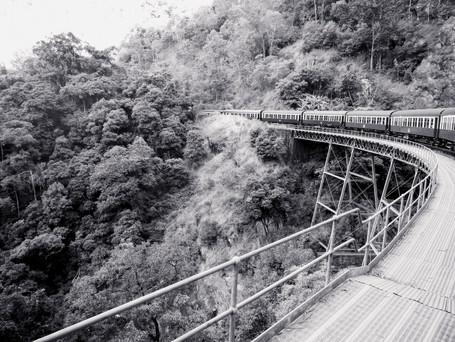 Marla Manes Photography Train Tracks in Australia