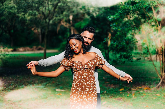 Couples engagement photo session interracial couple inspiration