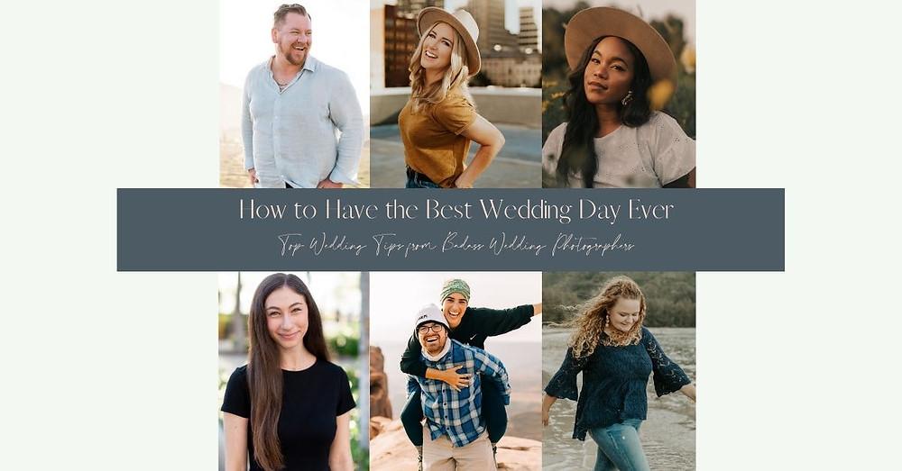 7 wedding/elopement photographers smile