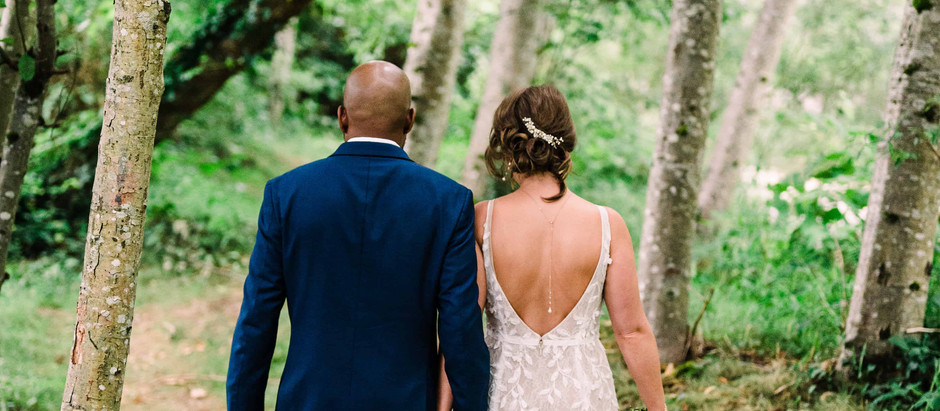 James and Stevie's Intimate Wedding at Moon River Suites