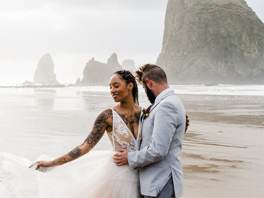 Cannon Beach Elopement - How to Plan Your Oregon Coast Elopement