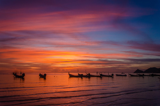 Marla Manes Photography Thailand Sunset