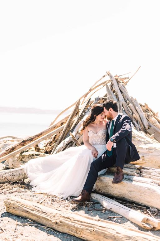 Lauren & Adam's Vashon Island Elopement