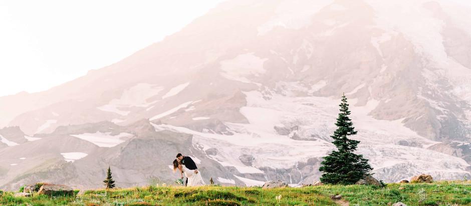 Mt. Rainier Elopement Guide - How to Plan a Mt. Rainier Wedding