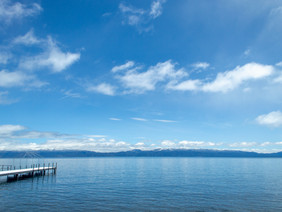 Lake Tahoe on a sunny day