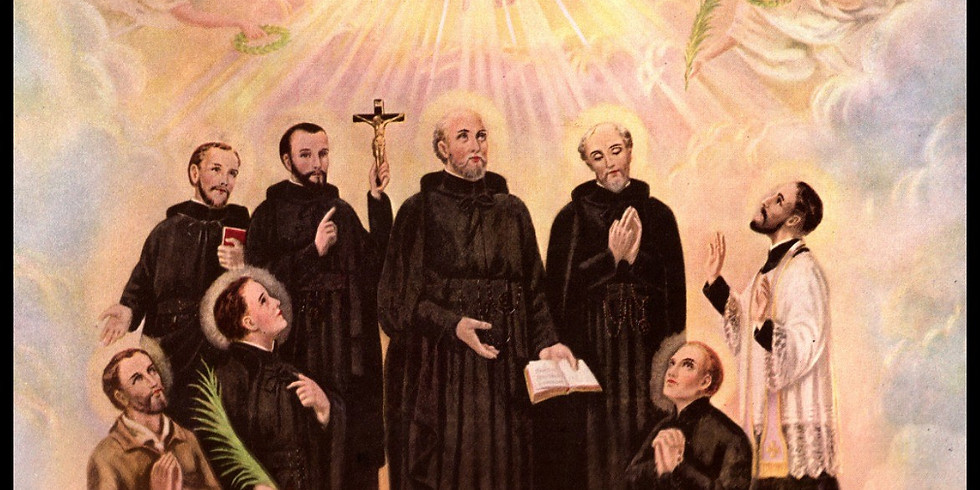 Solemn Mass for the Feast of the North American Martyrs