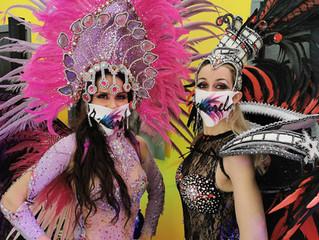 Show en Itep à l'approche du carnaval
