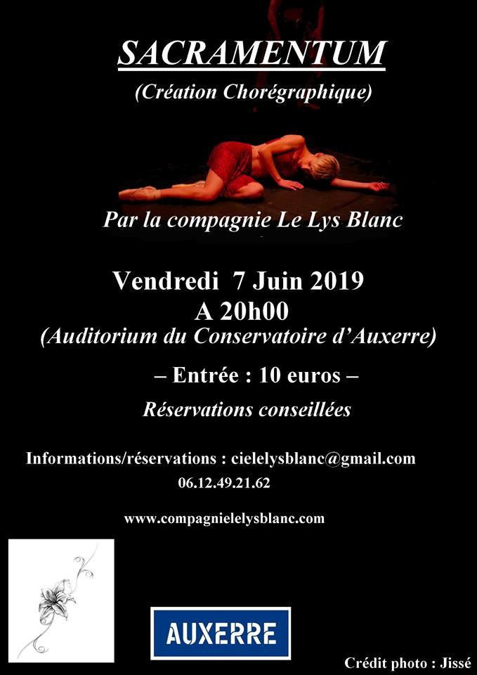 Spectacle sacramentum 7 juin 2019