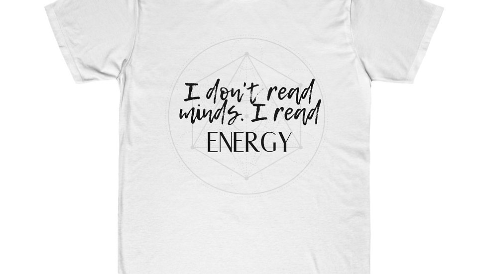 I don't read minds - Unisex Fitted Tee