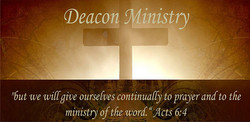 TRUSTEE AND DEACON MINISTRY