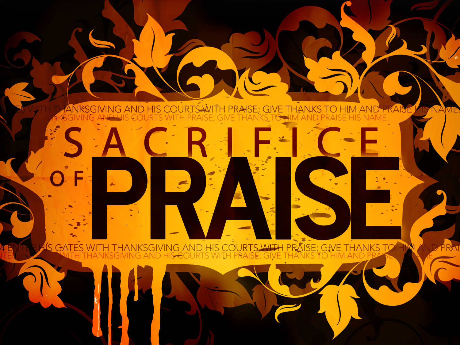 Sacrifice of Praise