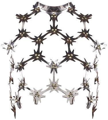 Lace Cutout Bodice
