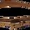 Thumbnail: 30% Off - Double Wrap Skinny Belt - Gold