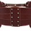 Thumbnail: 40% Off - Double Layer Belt - Merlot