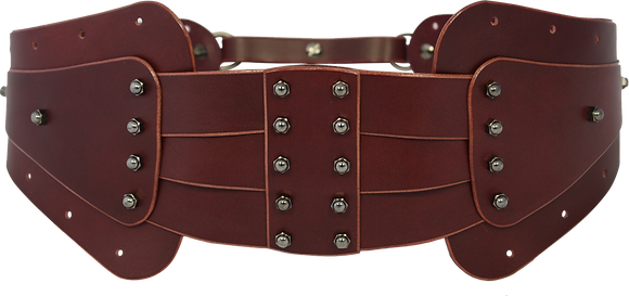 40% Off - Double Layer Belt - Merlot
