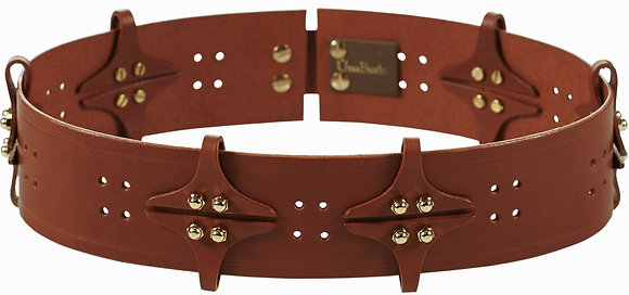 Spots And Spikes Belt