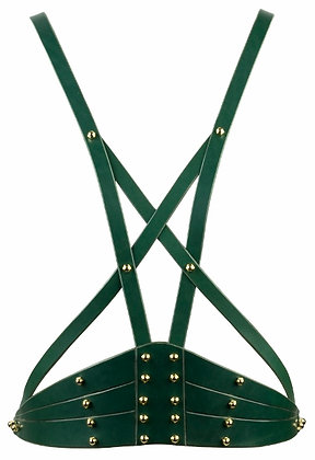 Etched Harness - Jade Green