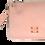 Thumbnail: 50% Off - Zip Top Purse - Powder Pink